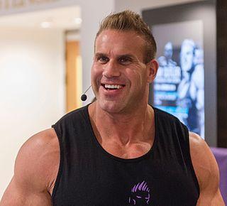 American bodybuilder