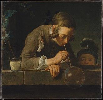 David David-Weill - Jean Siméon Chardin, Soap Bubbles. Oil on canvas. Ex David David-Weill Collection. Metropolitan Museum of Art, New York.