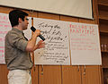 Jean-Fred presents at the Program Evaluation & Design Workshop in Budapest - Stierch.jpg