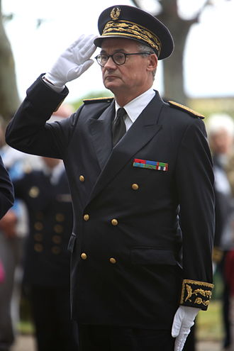 Prefect (France) - A prefect in dress uniform
