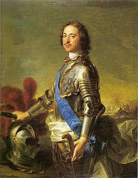 Портрет Петра I кисти Жана-Марка Натье, 1717 год