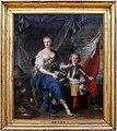 Jean-marc nattier, la duchessa di lambesc e suo fratello il conte di brionne, 1732, 01.jpg