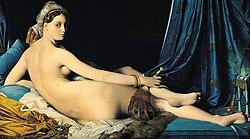 La solitude des peintes - La Grande Odalisque - Ingres dans La solitude des peintes 250px-Jean_Auguste_Dominique_Ingres%2C_La_Grande_Odalisque%2C_1814