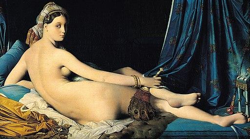Jean Auguste Dominique Ingres, La Grande Odalisque, 1814