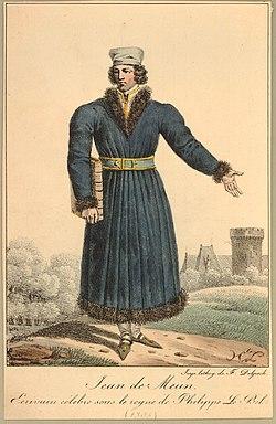 Jean de Meun, Ecrivain celebre sous le regne de Philippe Le Bel (1305) (BM 1871,1209.1838).jpg