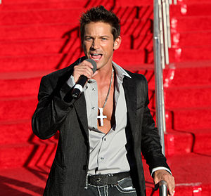Jeff Timmons - Timmons at Miss USA 2011
