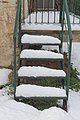 Jerusalem Snow 2013 - Green Staircase (8366328203).jpg