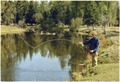 Jimmy Carter fishing in the Grand Tetons, WY - NARA - 180980.tif