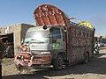 Jingle truck in Garmsir District, Helmand Province, Afghanistan P001.jpg
