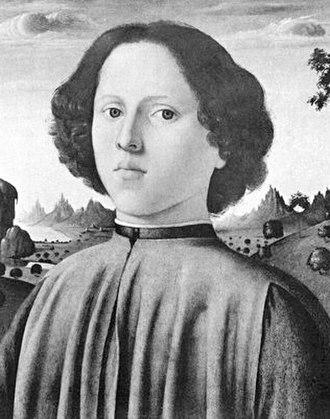 Gioffre Borgia - A portrait of a young man, believed to be Jofré Borgia.