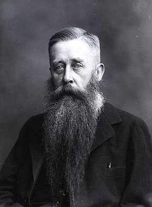 Johan Ludvig Heiberg (historian) - J. L. Heiberg in 1918