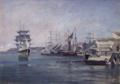 Johan Martin Nielssen - Fra Kristiansand, vestre havn - Nasjonalmuseet - NG.M.01001a.png