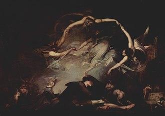 The Nightmare - Image: Johann Heinrich Füssli 017