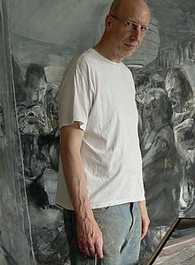 Johannes Heisig in his studio.jpg