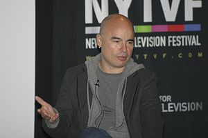 "Gavin Volure - ""Gavin Volure"" was written by co-executive producer John Riggi (pictured)."