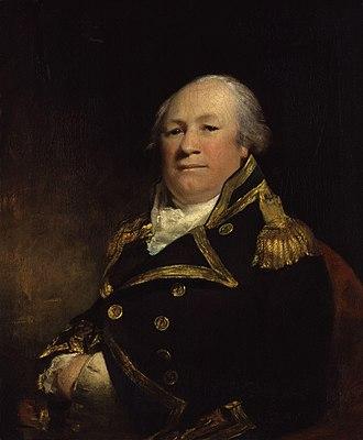 John Schank - Admiral John Schank by John James Masquerier