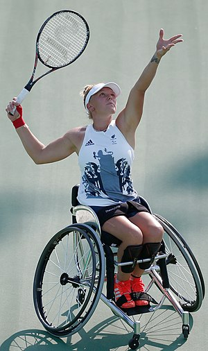 Jordanne Whiley - Whiley at the 2016 Paralympics