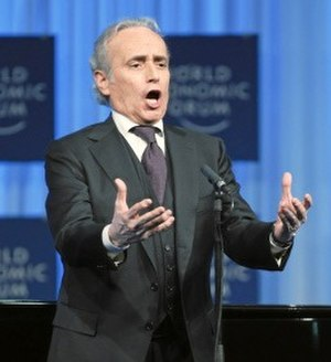 José Carreras - Carreras performing at World Economic Forum in 2011