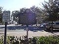 Josiah T. Walls historical marker (back), Gainesville FL.JPG