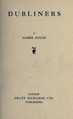 Joyce   dubliners, 1914   3690390 f