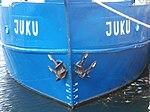 Juku Name on the Bow Tallinn 25 September 2013.JPG