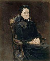 Portrait de Madame Pâris, belle-mère de l'artiste