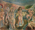 JulesPascin-1915-Composition of Nudes.png