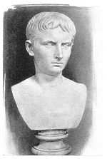 19th c. bust of young Julius CaesarPhoto: Maxwell Wolf