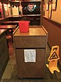Just Pizza Dining Room Closed Due To COVID - 20200512.jpg