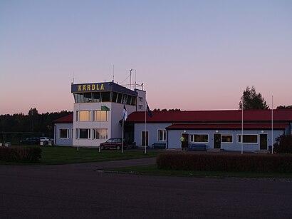 Kuidas ühistranspordiga sihtpunkti Kärdla Lennujaam jõuda - kohast
