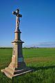 Kříž u silnice do Nezamyslic, Mořice, okres Prostějov.jpg