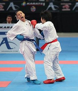 Alexandra Recchia French karateka