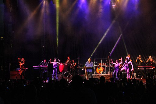 KC and the Sunshine Band at Loessfest 2017