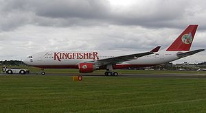 History of Kingfisher Airlines - Airbus A330-200