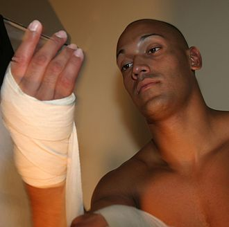Bandage - Bandages are also used in martial arts to prevent dislocated joints.