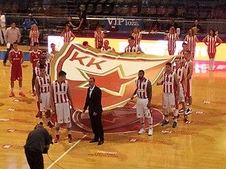 KK Crvena zvezda - Team for season 2014–15