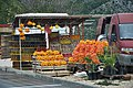 """KROATIE , Onderweg , bij Ploce ... tientallen stalletjes met prachtige """"fruitige"""" kleuren - panoramio.jpg"""