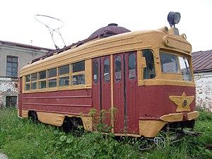 Trams in Arkhangelsk - KTM-1 no 8