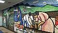 "Kagome head office wall paint ""TOMATO"" 1.jpg"