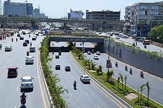 Gulberg, Lahore - Kalma Underpass