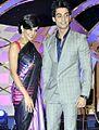 Karan Wahi and Mandira Bedi.jpg