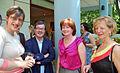 Karine Daniel, René Martin, Michèle Guillossou et Brigitte Ayrault (4698860377).jpg