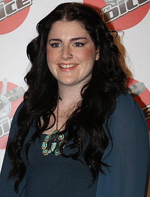 2012 in Australian television - Karise Eden, winner of the first season of The Voice.