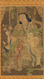 A female deity.