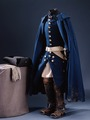 Karl XIIs uniform buren vid Fredrikstens fästning år 1718 - Livrustkammaren - 30733.tif