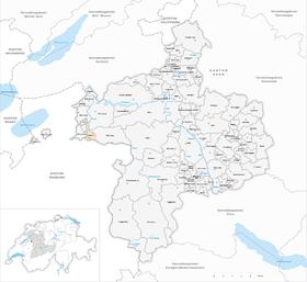 Karte von Laupen