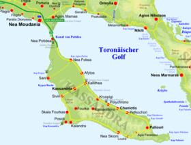Péninsule de Cassandra — Wikipédia
