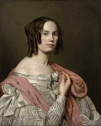 Katarina Ivanović - Self-portrait by Katarina Ivanović, National Museum of Serbia