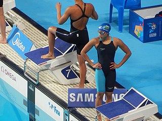 Daynara de Paula Brazilian swimmer