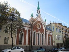 Церковь святой екатерины казань